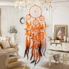 Main Dream Catcher Wind Chimes Indien Style Plume Pendentif Ornement Rêve Catcher Voiture Tenture Décoration