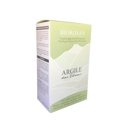 Poudre à l'argile verte 100% naturelle - Masque/Eau d'argile/Bain douceur/Cataplasme - Etui 300g