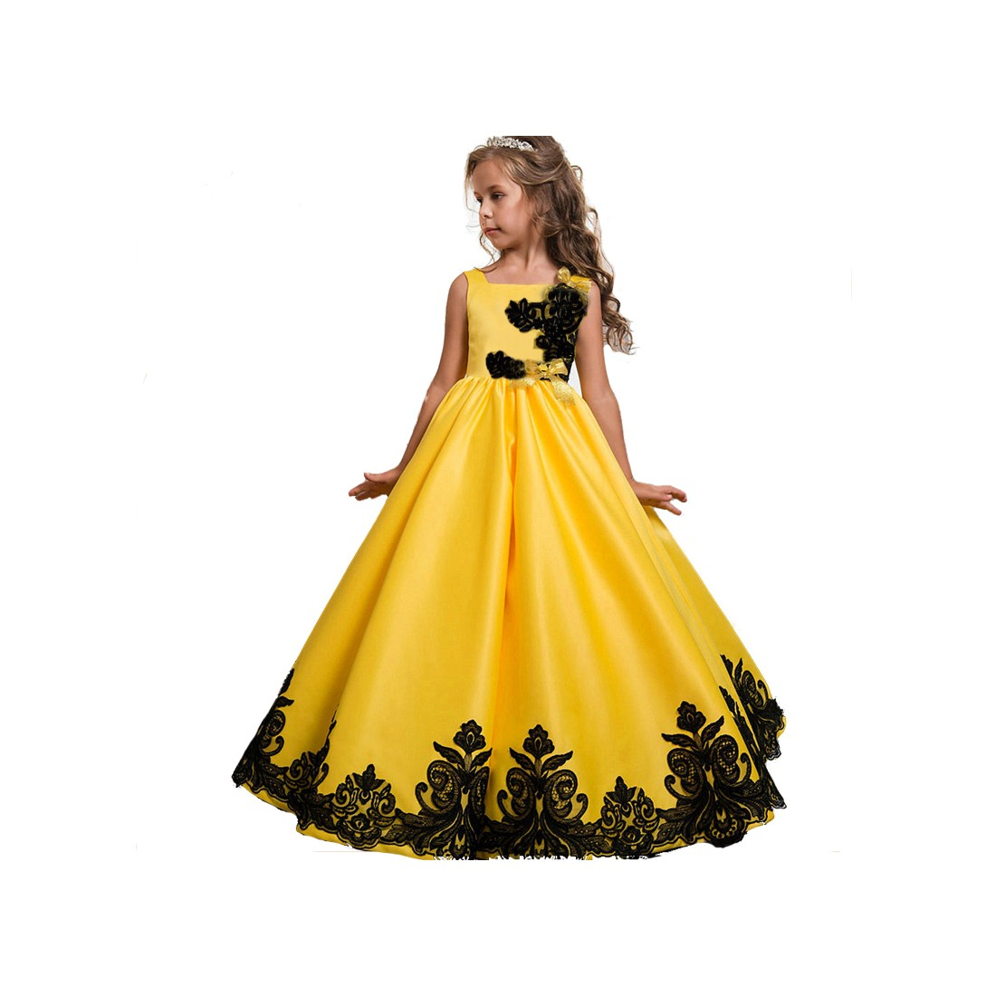 Modele de robe de soiree pour fillette