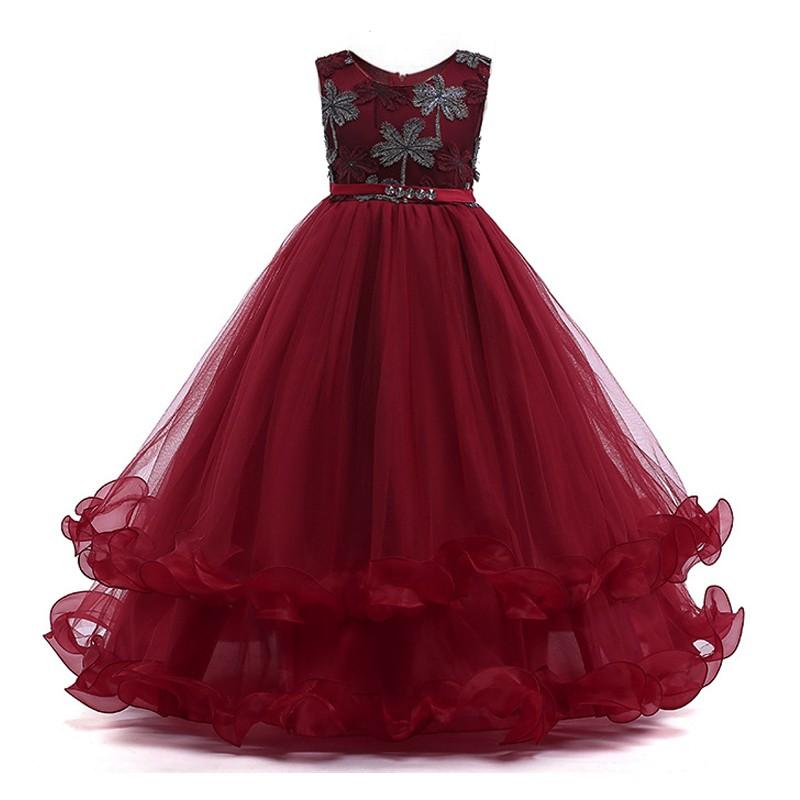 robe d 39 t princesse formelle pageant robe parti jeunes. Black Bedroom Furniture Sets. Home Design Ideas